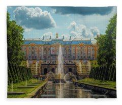Peterhof Palace Fleece Blanket