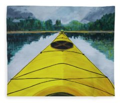 Petersburg Creek Fleece Blanket