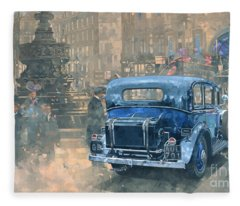 Phantom In Piccadilly  Fleece Blanket