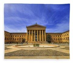 Philadelphia Art Museum Fleece Blanket