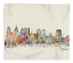 Philadelphia City  Fleece Blanket