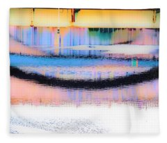 Philadelphia Scene2 Fleece Blanket