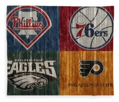 Philadelphia Sports Teams Fleece Blanket