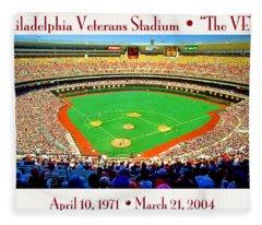 Philadelphia Veterans Stadium The Vet Fleece Blanket