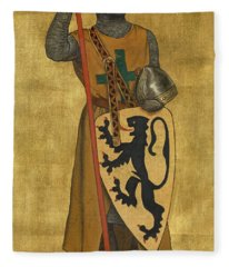 Philip Of Alsace Fleece Blanket