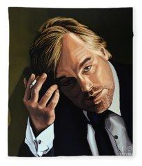 Philip Seymour Hoffman Fleece Blanket