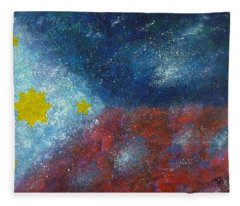 Philippine Flag Fleece Blanket