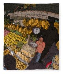 Philippines 3575 Saging Sales Lady Fleece Blanket