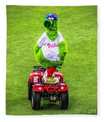 Phillie Phanatic Scooter Fleece Blanket