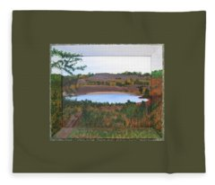 Phoenix Lake Fleece Blanket