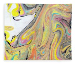 Phoenix Rising Fleece Blanket