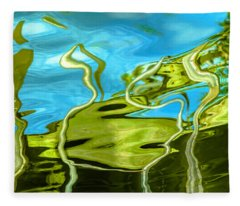 Photo Painting 3 Fleece Blanket