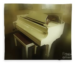 Piano Dream Fleece Blanket