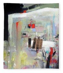 Piano Room Fleece Blanket