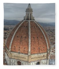Piazza Del Duomo Fleece Blanket