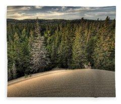 Pic Dunes   Fleece Blanket