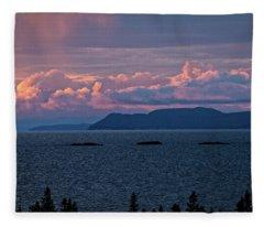 Pic Island Fleece Blanket