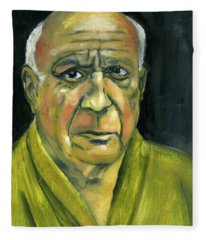 Picasso Fleece Blanket