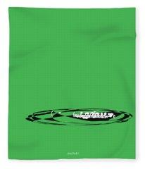 Piccolo In Green Fleece Blanket