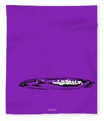 Piccolo In Purple Fleece Blanket