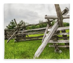 Picket Fence Fleece Blanket