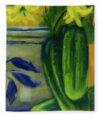 Pickling Cucumbers  Fleece Blanket