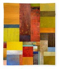Pieces Project L Fleece Blanket