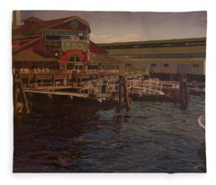 Pier 55 - Red Robin Fleece Blanket