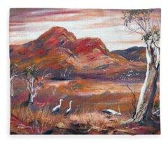 Pilbara, Outback, Western Australia, Fleece Blanket