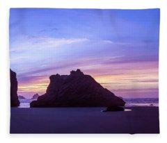 Pillars Of Bandon Fleece Blanket