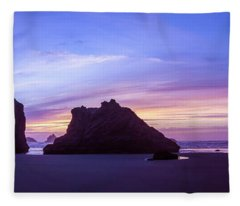 Pillars Of Bandon Fleece Blanket