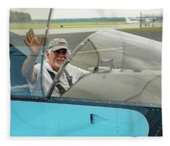 Pilot Vic Vicari Fleece Blanket