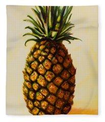 Pineapple Angel Fleece Blanket