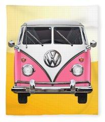 Volkswagen Bus Fleece Blankets
