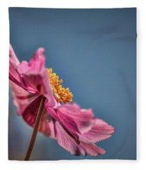 Pink And Yellow Profile #h8 Fleece Blanket