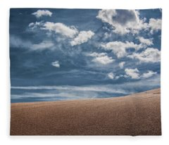 Pink Sand Dunes Fleece Blanket