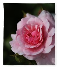 Pink Shades Of Rose Fleece Blanket
