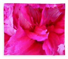 Pink Splash Fleece Blanket