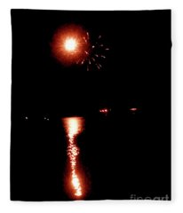 Pioneer Day Fireworks I Fleece Blanket