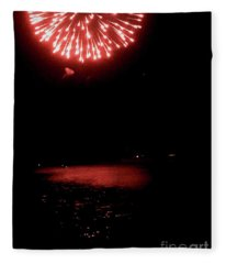Pioneer Day Fireworks II Fleece Blanket