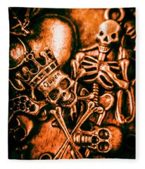 Pirates Treasure Box Fleece Blanket