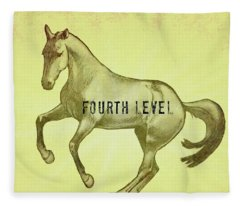 Pirouette Fourth Level Fleece Blanket