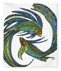 Pisces Fleece Blanket