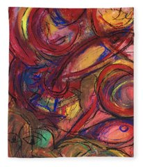 Pisces Symbalic Fleece Blanket