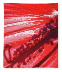 Pistil Shadow Fleece Blanket