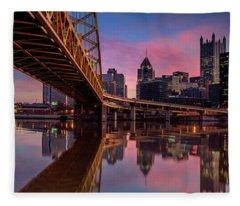 Pitt Over Pass Fleece Blanket