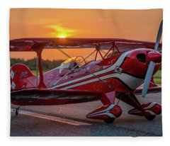 Pitts Sunset Fleece Blanket