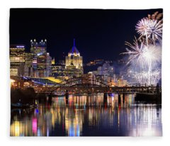 Pittsburgh 1  Fleece Blanket