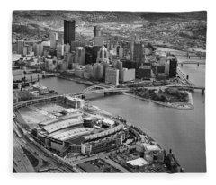 Pittsburgh 9 Fleece Blanket