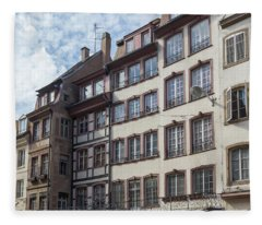 Place Gutenberg Cityscape Fleece Blanket